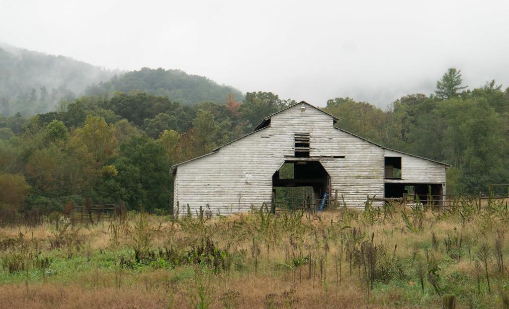 Empty barn by randystreat