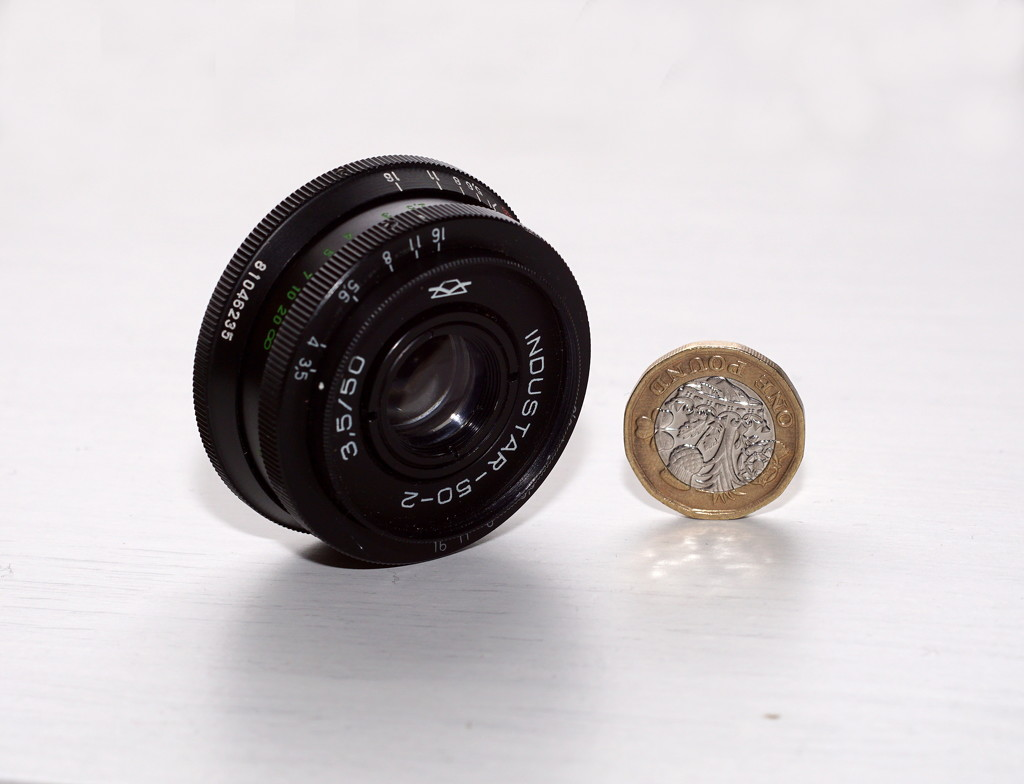 Industar 50-2 shot with a Vintage Lens (Fujinon 55mm f1.8) by phil_howcroft