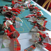 Christmas garland craft