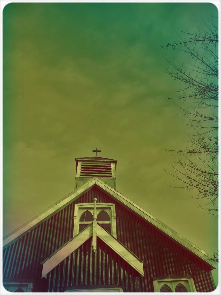 Cross at the sky by ajisaac