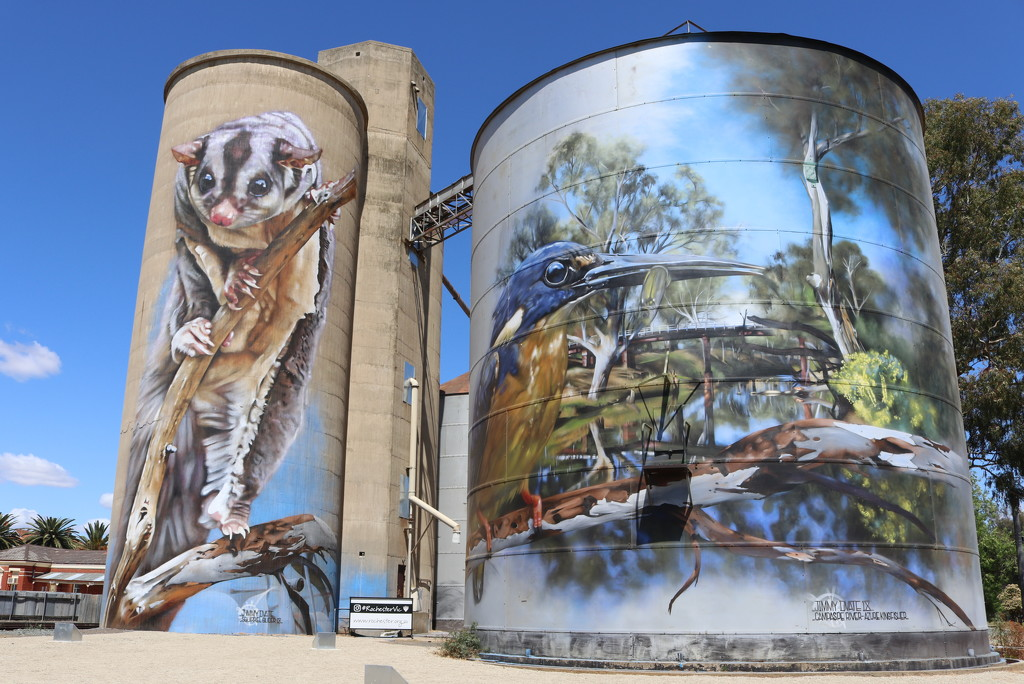Rochester silos by gilbertwood
