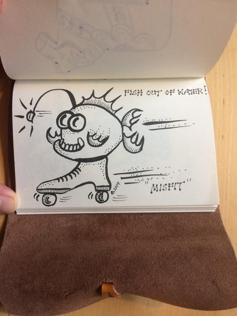 Misfit by huvesaker