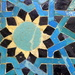 Seljuk tile mosaic panel