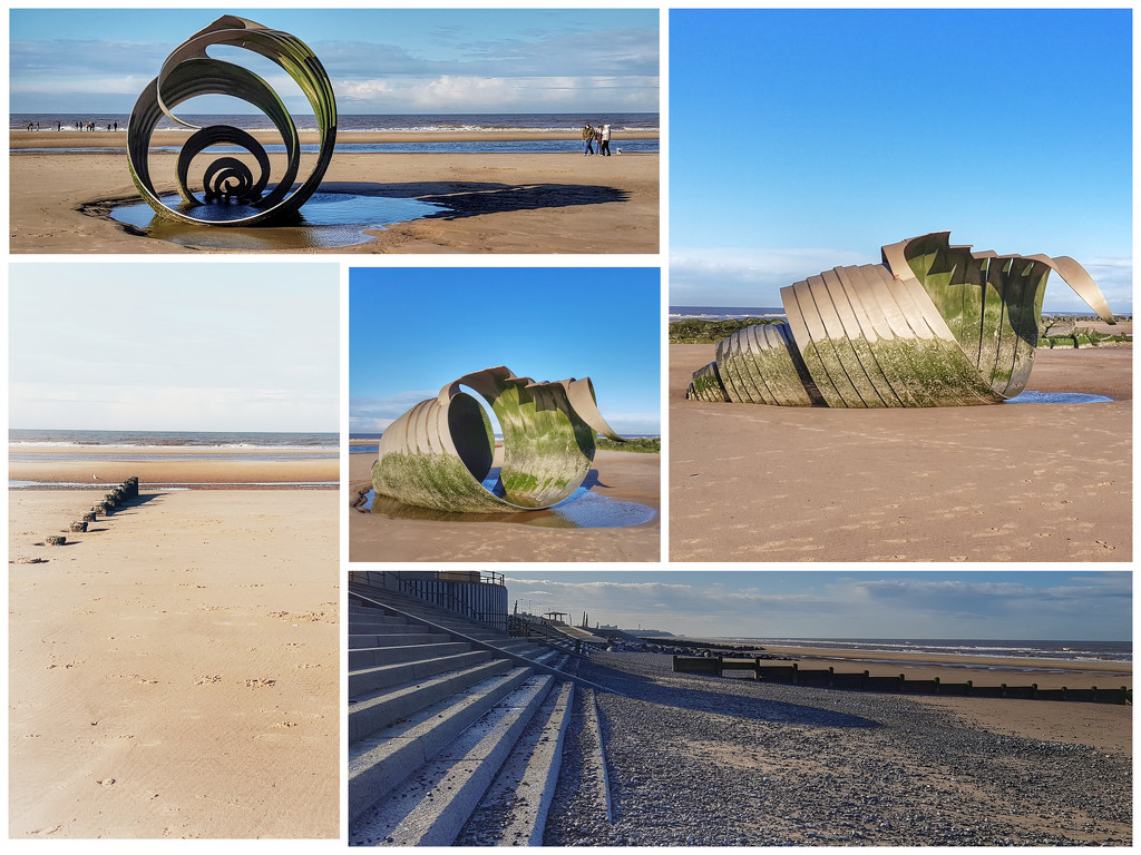 More of Mary's Shell and the seafront at Thornton Cleveleys by lyndamcg