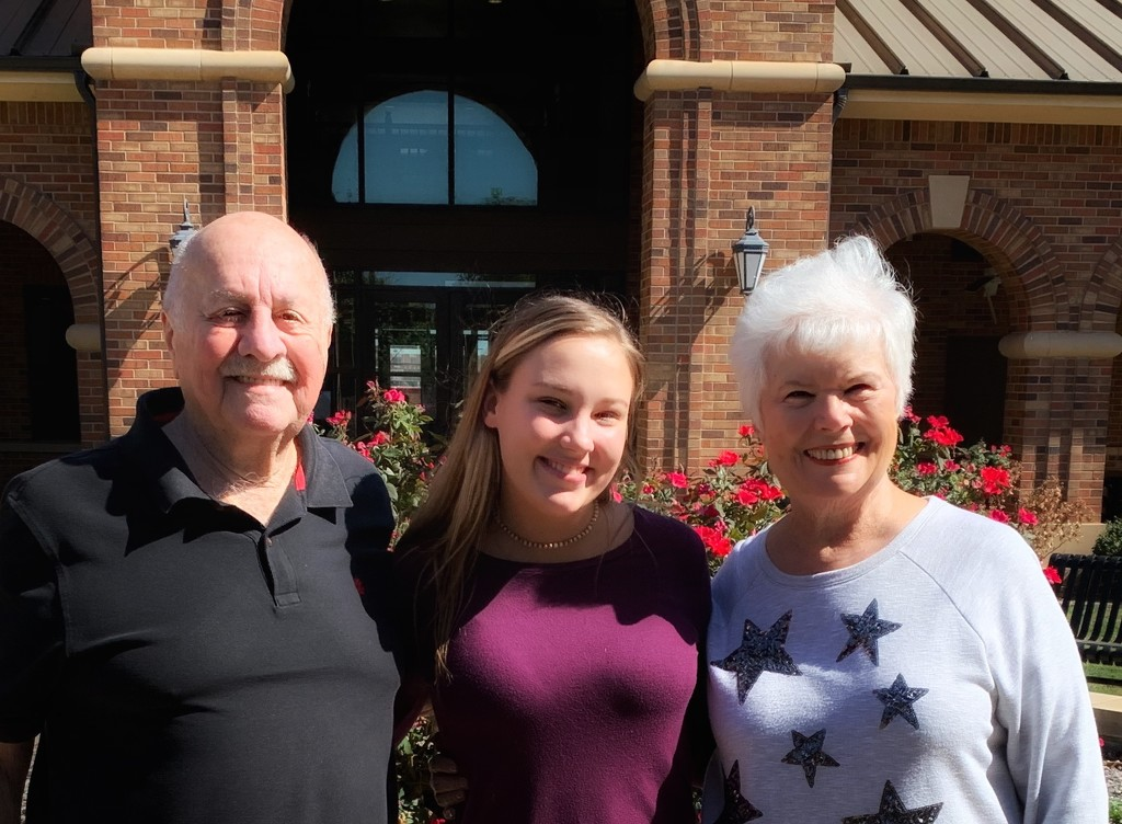Proud grandparents  by louannwarren