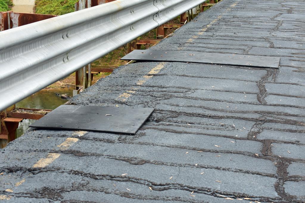 Temporary bridge repairs by homeschoolmom