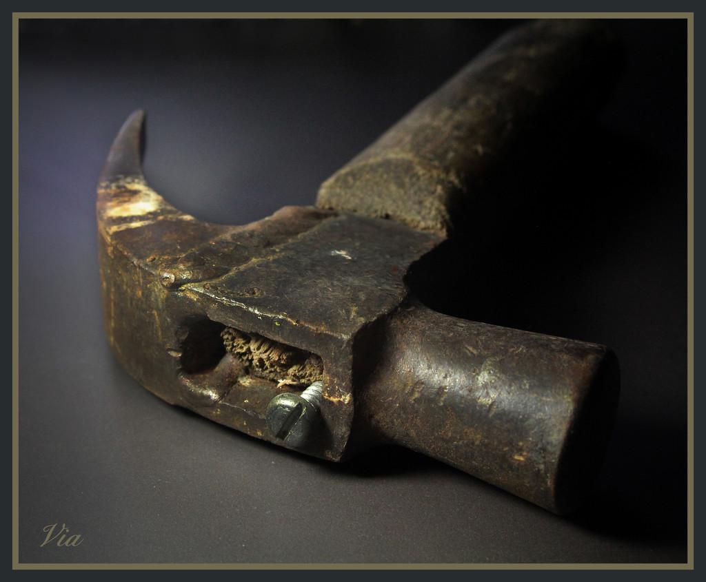 DIY hammer seen better days... by sdutoit