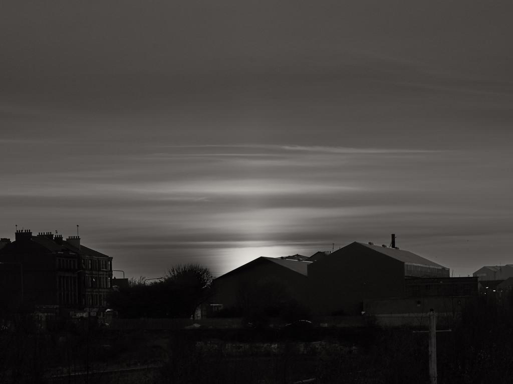 Sunset - Glasgow by jamesleonard