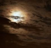 17th Oct 2019 - Muffled moon
