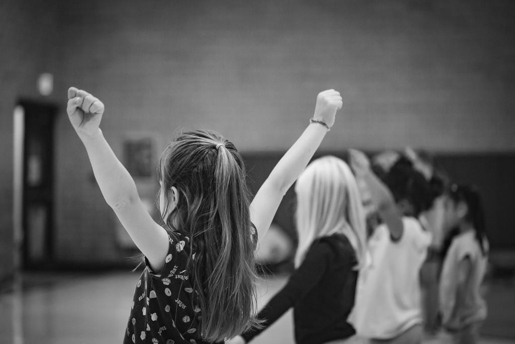Cheer Practice by tina_mac