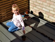 19th Oct 2019 -  Niamh and her Conkers