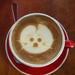Cat picture on my Coffee