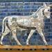 Ishtar Gate glazed brick panel