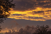 21st Oct 2019 - Cloudy Sunset