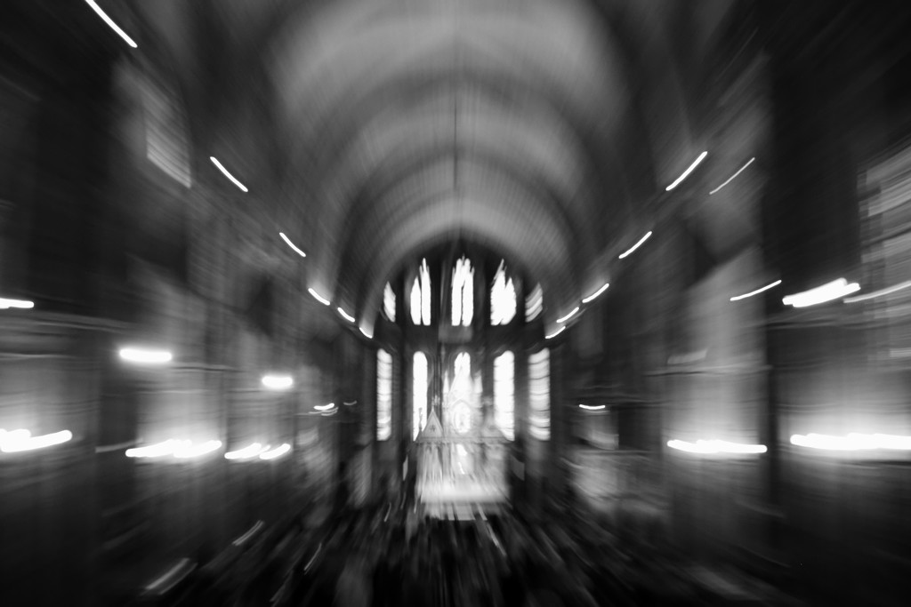 inside Matthias Church by blueberry1222