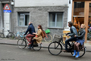 22nd Oct 2019 - bicycling in Antwerp