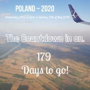 25th Oct 2019 - Poland Countdown