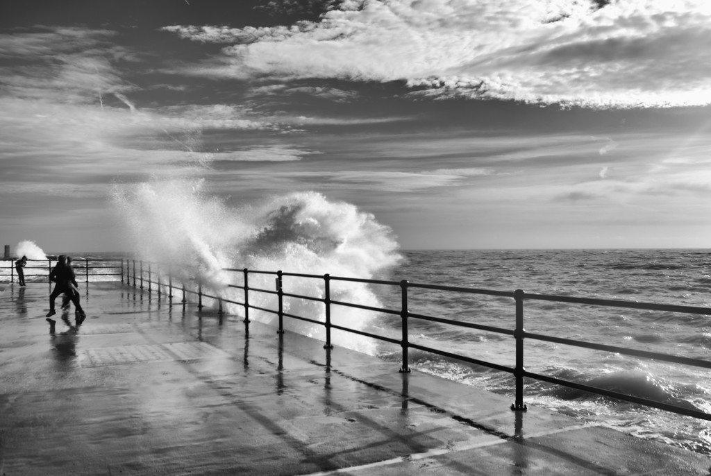 Wave Watching by fbailey