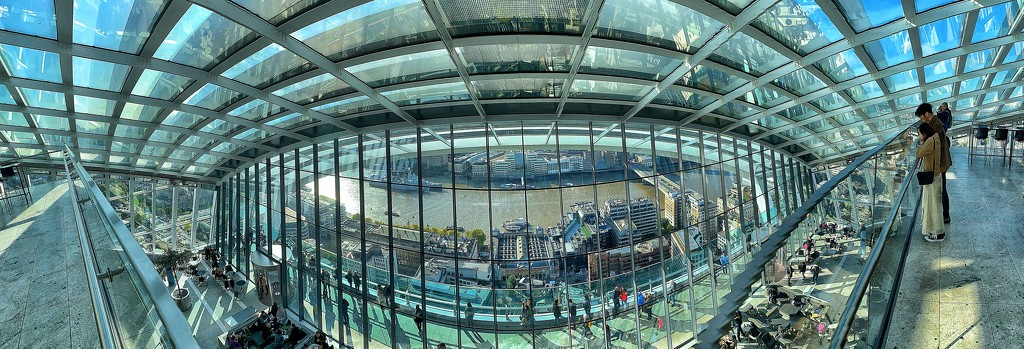 Skygarden panorama.  by cocobella
