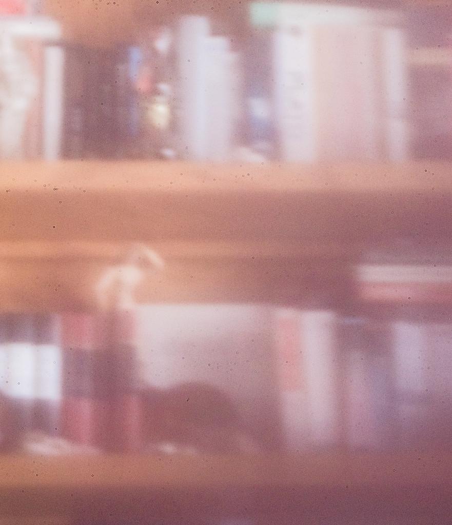 pinhole bookshelf by aecasey