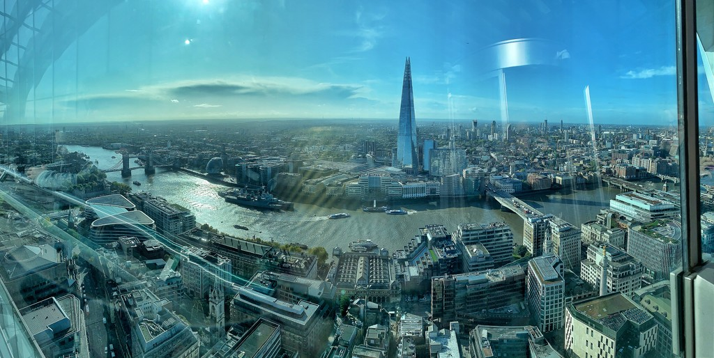 From Sky garden to the Shard.  by cocobella