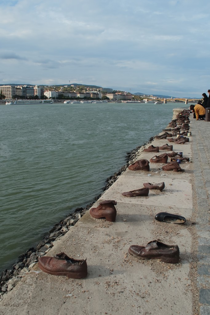 Shoes on the Danube Bank by blueberry1222