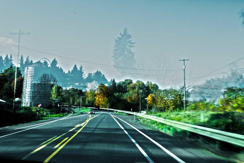double-road-exposure by mamazuzi