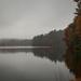 Grey skies at the reservoir.