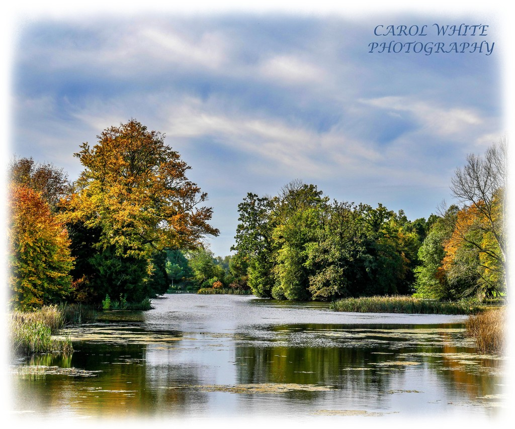Lake And Reflections,Stowe Gardens by carolmw