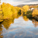 River Calder autumn colours by peadar