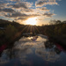 Sunrise on the River Calder by peadar