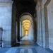 Le Louvre's perspective by parisouailleurs