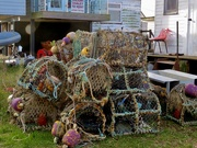 30th Oct 2019 - Crab pots at The Ferry
