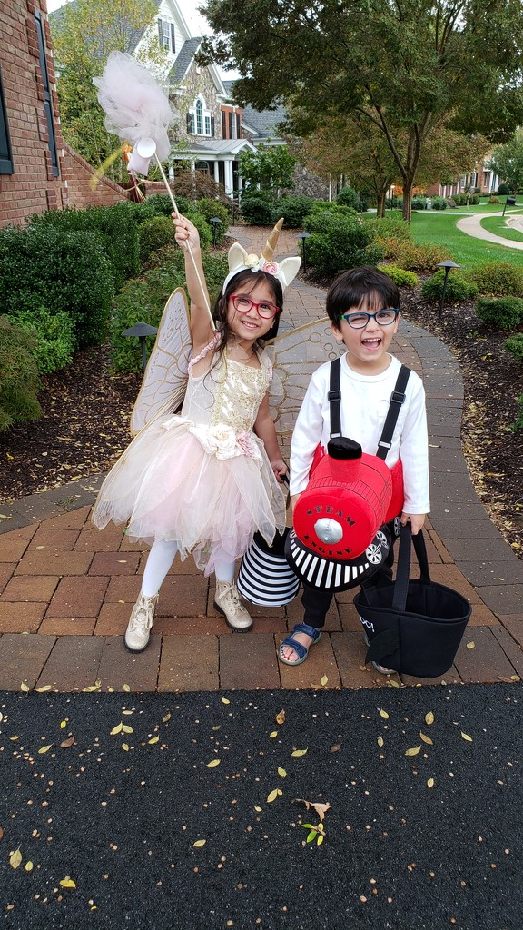 Ready, set, go Trick or Treating! by tracys