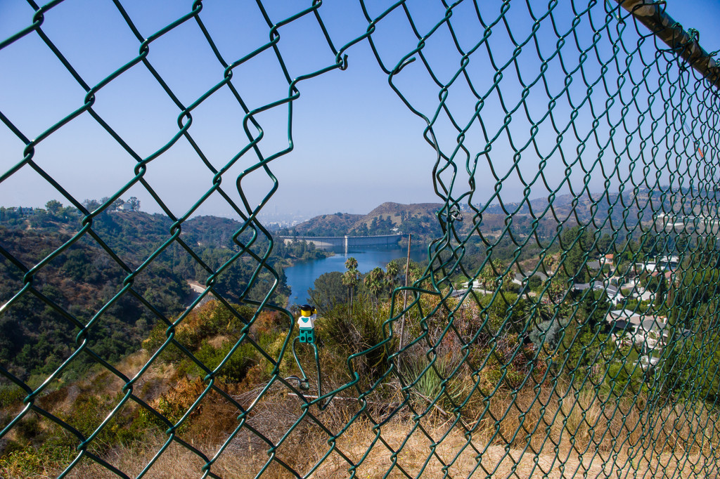 (Day 261) - Lake Hollywood Framed by cjphoto