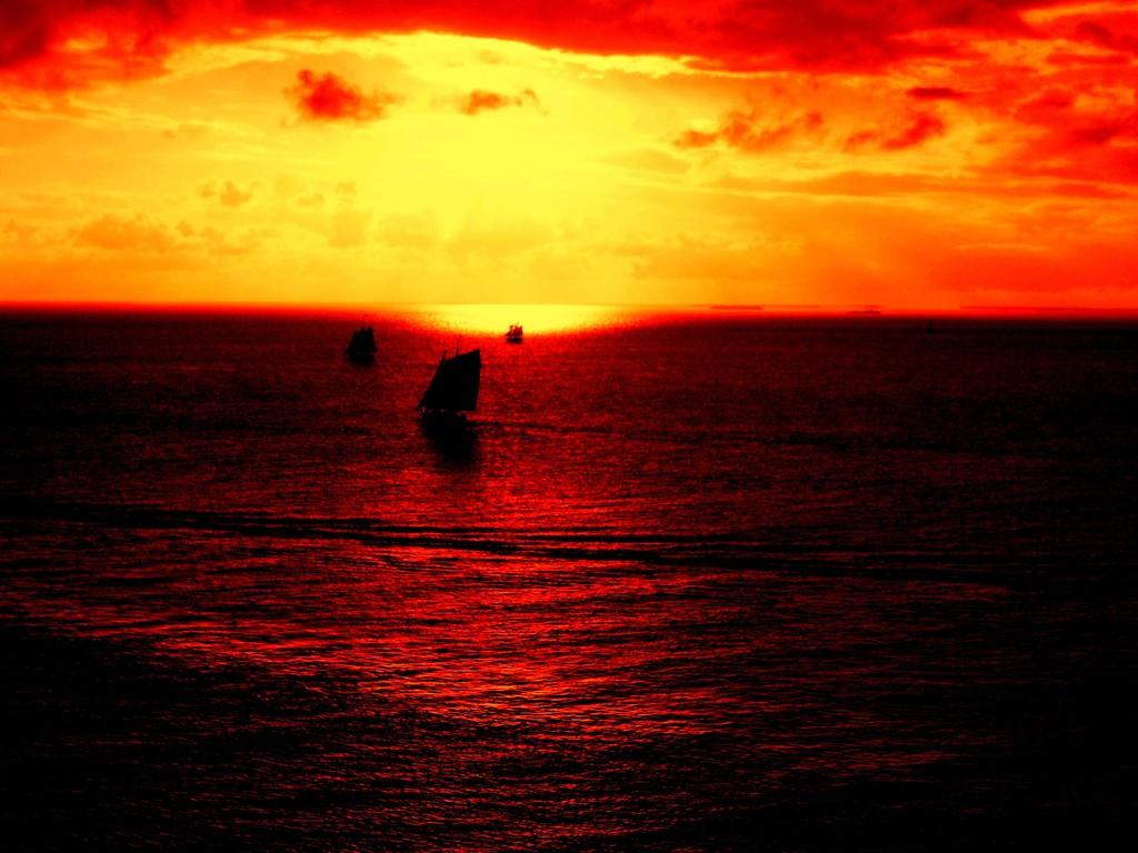 Sundown  by bruni