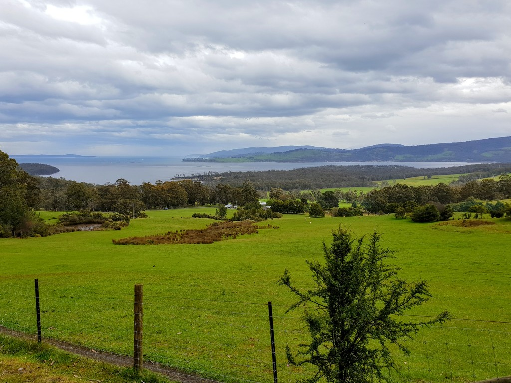 Huon Valley view by gosia