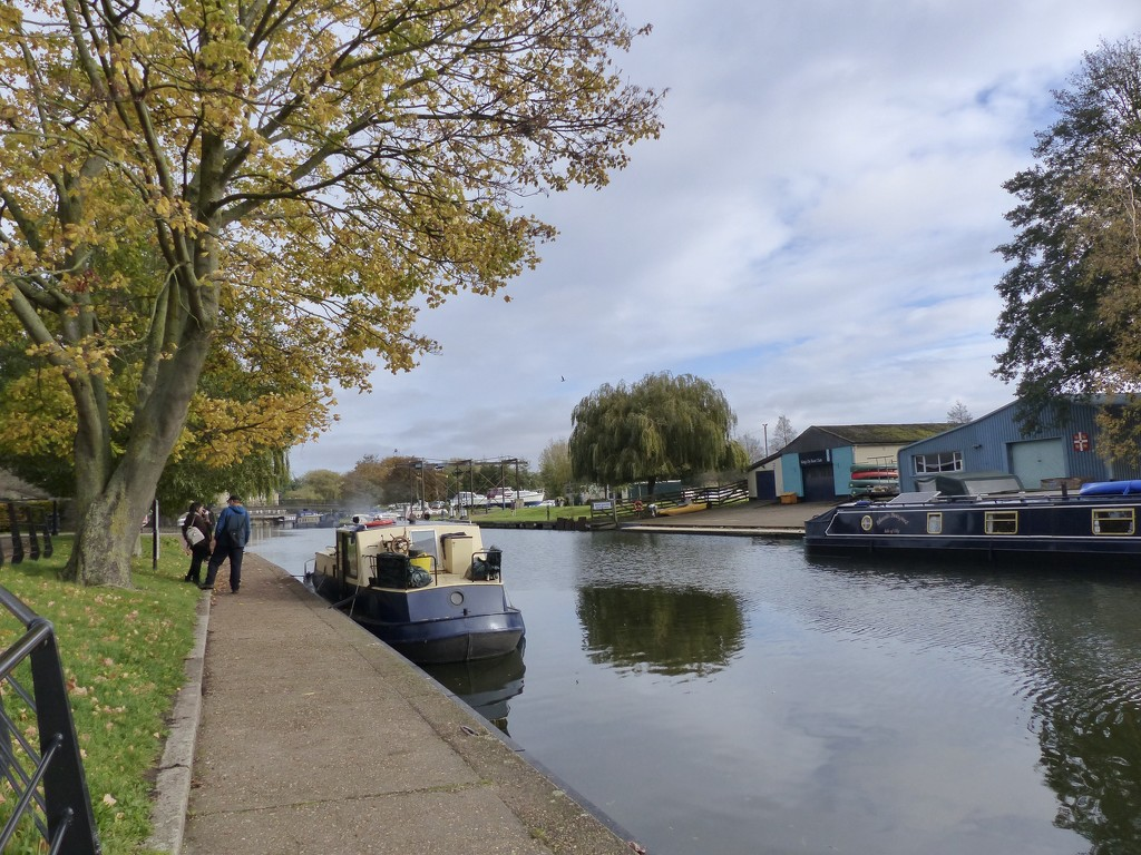 The River Ouse Ely  by foxes37