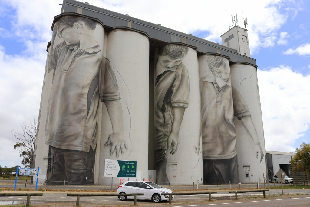 Coonalpyn silos by gilbertwood