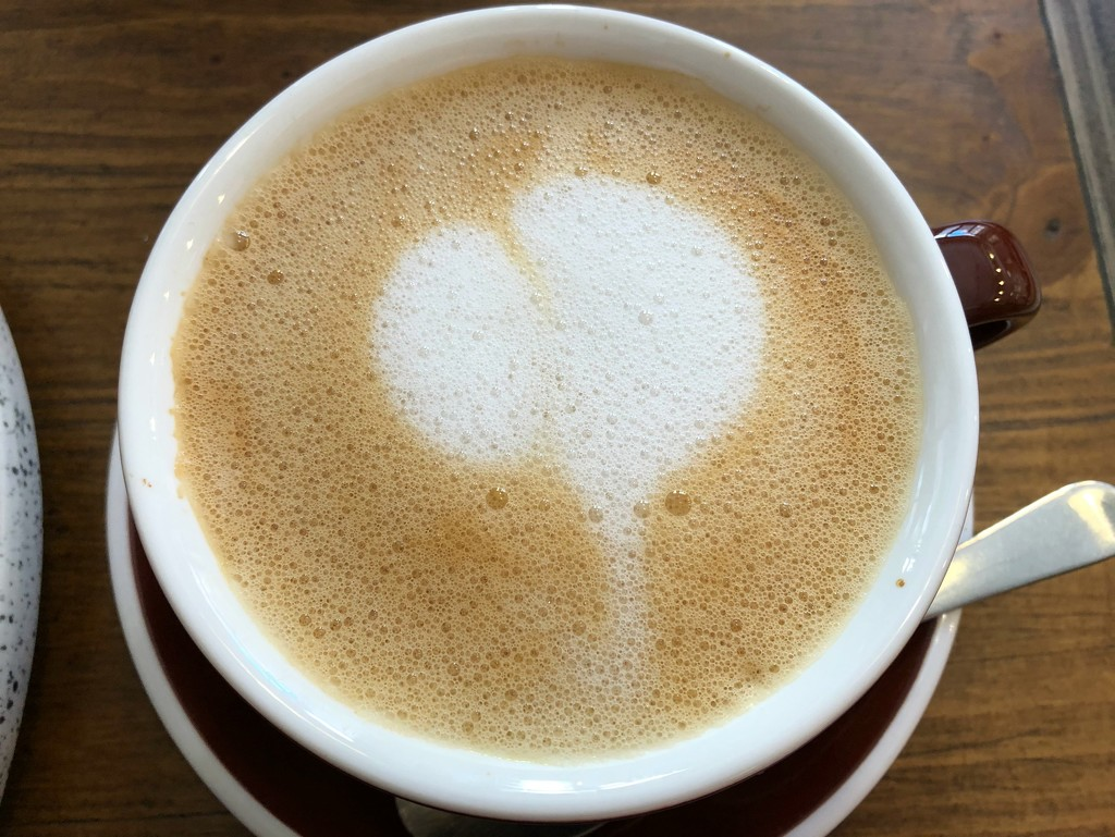 7 Vie-Est-Belle cafe latte by homeschoolmom