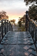 1st Nov 2019 - Alone on the bridge