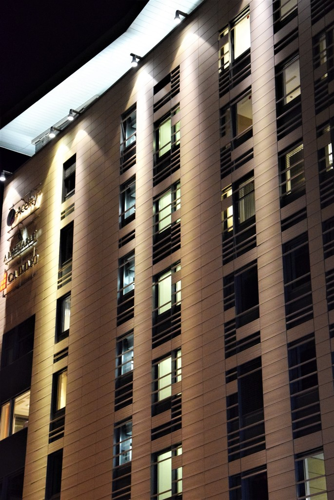 The office building night lights by kork