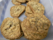 4th Nov 2019 - Oatmeal Raisin Cookies