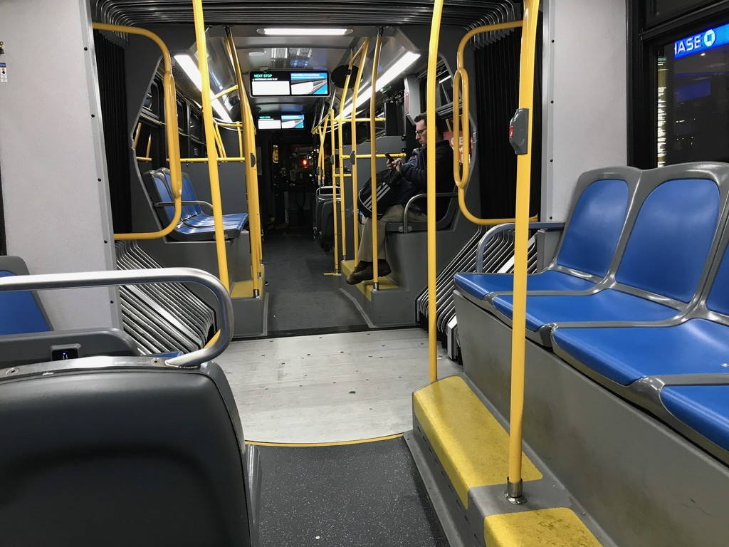 Express Bus at Night by allie912