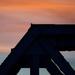 Bridge after sunset