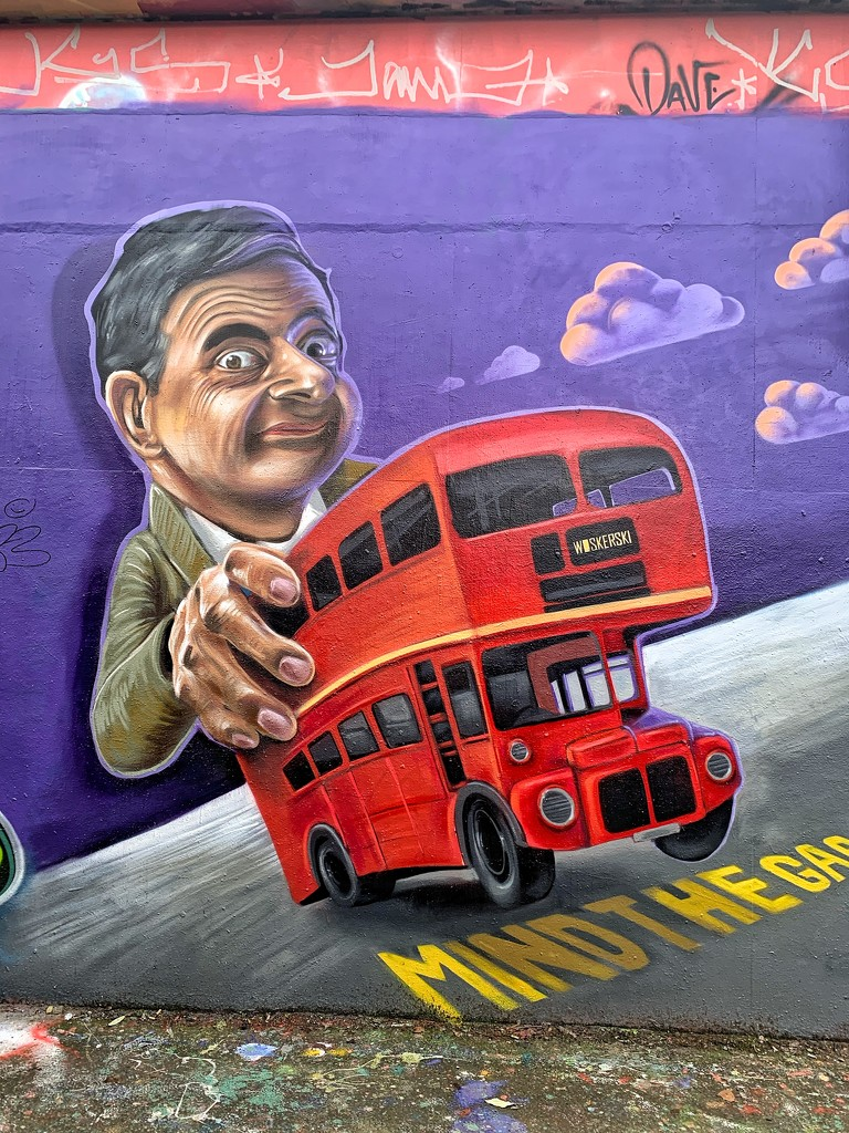 Mister B and the bus.  by cocobella
