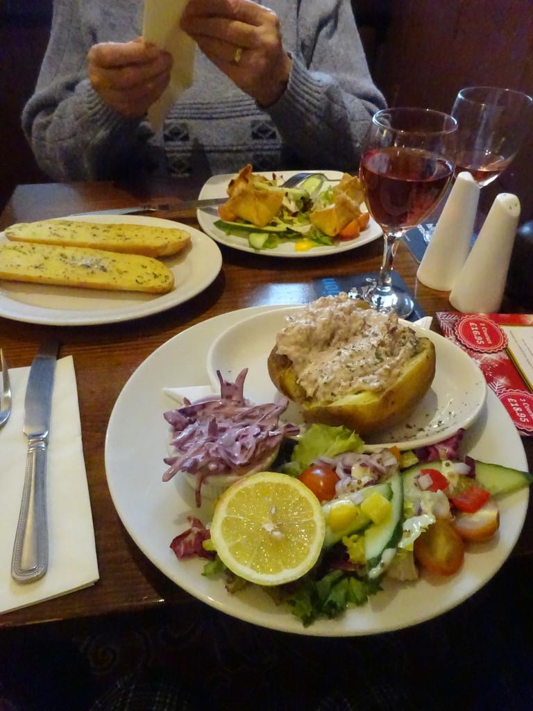 no walk, lunch instead by anniesue