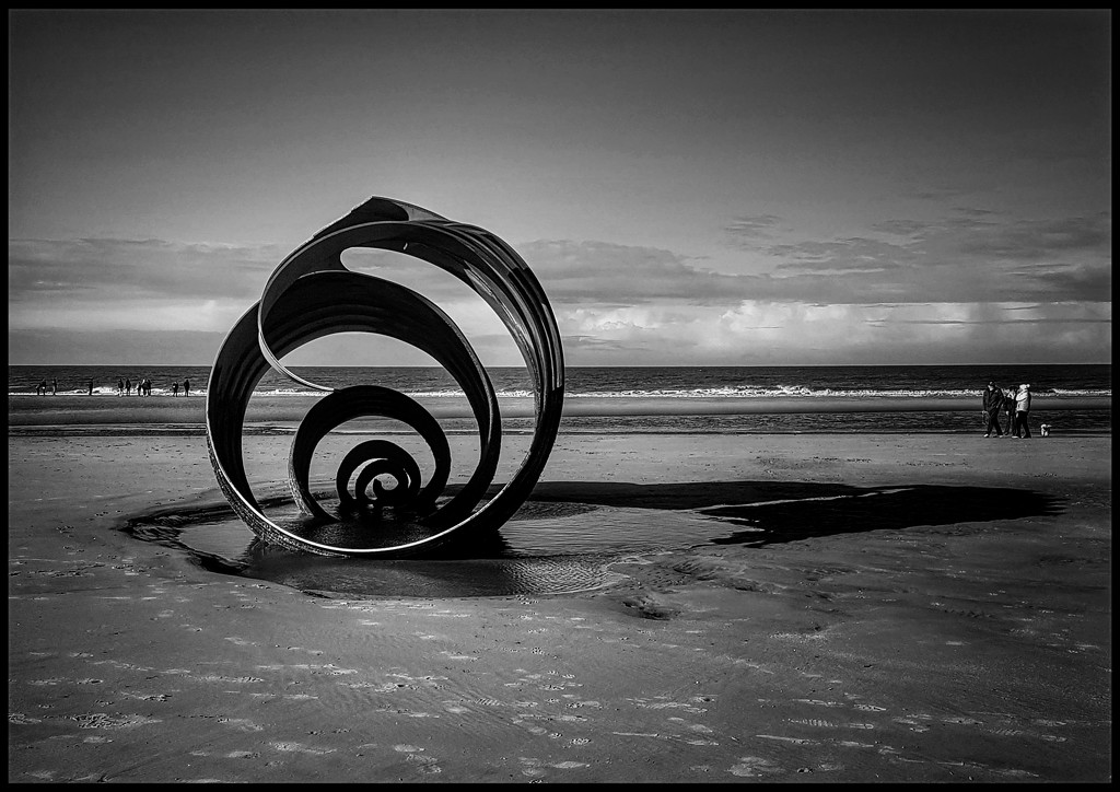 Feeling very b&w at the moment! Wet outside so trying a bit of processing to see what suits b&w conversion. Like the way this looks more dramatic with the vignette too. by lyndamcg