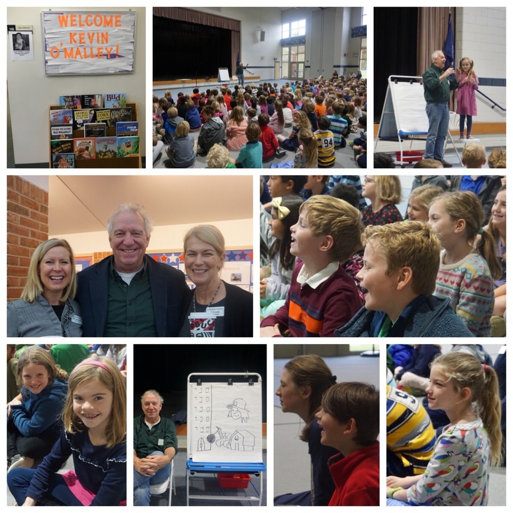 Author Kevin O'Malley Came to School by allie912