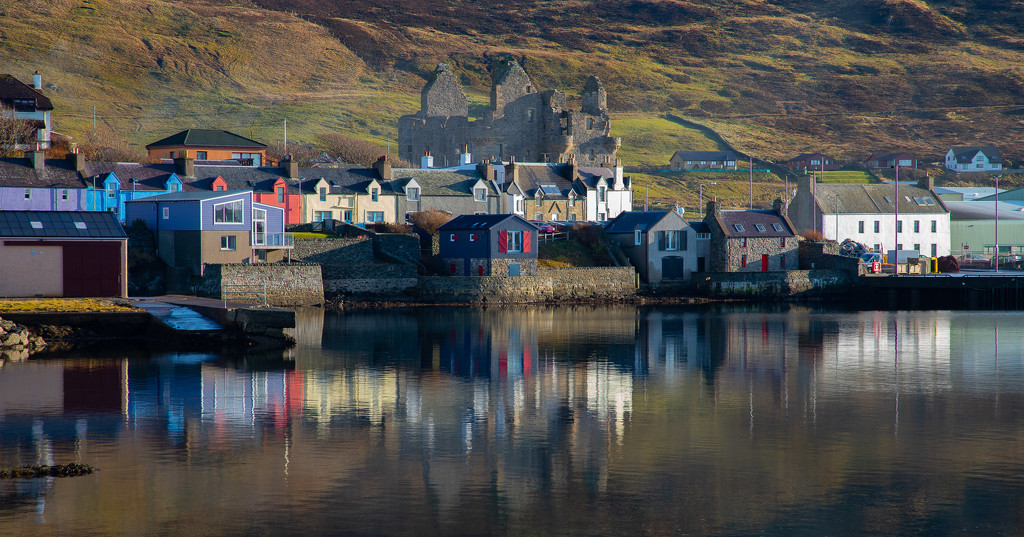Scalloway Colours by lifeat60degrees